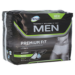 TENA MEN Level 4 Premium Fit Prot.Underwear M 12 Stück