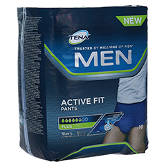 TENA MEN Active Fit Pants Plus L 10 Stück