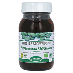 BIOSPIRULINA & Biochlorella 2in1 Tabletten 500 Stück