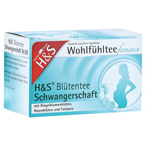 H&S Schwangerschaft Blütentee Filterbeutel 20x1.5 Gramm