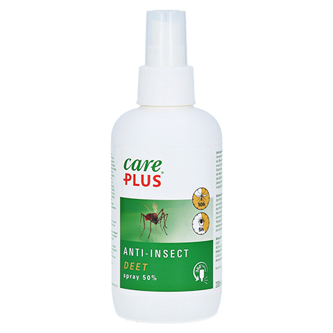 CARE PLUS Anti-insect Deet 50% Spray 200 Milliliter