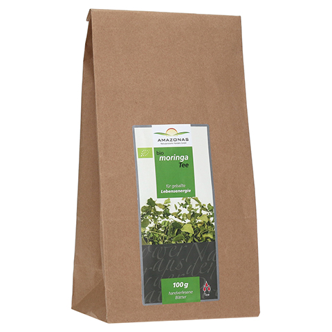 MORINGA 100% Bio Blätter-Tee pur 100 Gramm