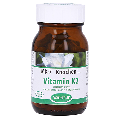 Vitamin K2 MK7 Kapseln 90 Stück