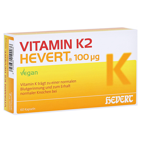 Vitamin K2 Hevert 100 µg Kapseln 60 Stück