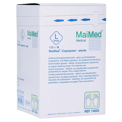 MAIMED Copolymer Handschuh steril Gr.L einz.verp. 100 Stück