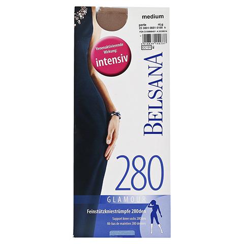 BELSANA glamour 280den AD norm.M perle m.Sp. 2 Stück