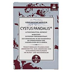 CYSTUS Pandalis Lutschtabletten 66 Stück - Vorderseite