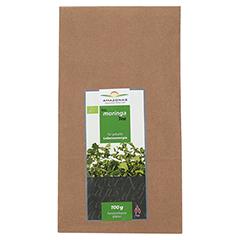 MORINGA 100% Bio Blätter-Tee pur 100 Gramm - Vorderseite