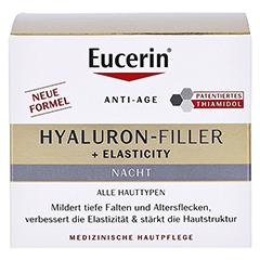 EUCERIN Anti-Age Elasticity+Filler Nachtcreme 50 Milliliter - Vorderseite
