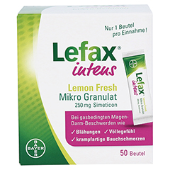 Lefax Intens Lemon Fresh 50 Stück - Vorderseite