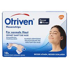 Otriven Nasenstrips normal, beige 10 Stück - Vorderseite