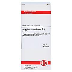 SYZYGIUM JAMBOLANUM D 4 Tabletten 200 Stück N2 - Vorderseite