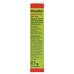 Floradix Lactoferrin 100 mg Kapseln 30 Stück - Linke Seite