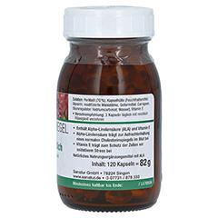 Omega-3 Fettsäuren 100% pflanzliche Kapseln 120 Stück - Linke Seite