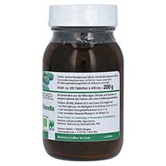 BIOSPIRULINA & Biochlorella 2in1 Tabletten 500 Stück - Linke Seite