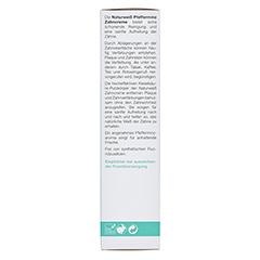 LOGODENT Naturweiss Pfefferminz-Zahncreme 75 Milliliter - Linke Seite