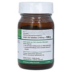 SPIRUCHROM Chrom Spirulina Nahrungsergänzung Tabl. 250 Stück - Linke Seite