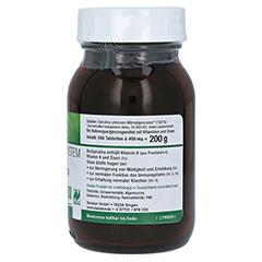 BIOSPIRULINA aus ökologischer Aquakultur Tabletten 500 Stück - Linke Seite