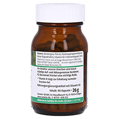Vitamin K2 MK7 Kapseln 90 Stück - Rechte Seite