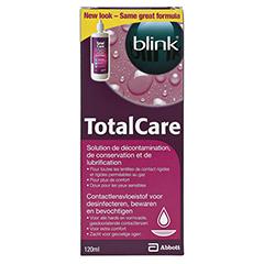 BLINK TotalCare Aufbewahrungs- & Benetzungslösung 120 Milliliter - Rückseite