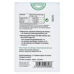 CHLORELLA MIKROALGEN 400 mg Sanatur Tabletten 750 Stück - Rückseite