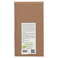 MORINGA 100% Bio Blätter-Tee pur 100 Gramm - Rückseite
