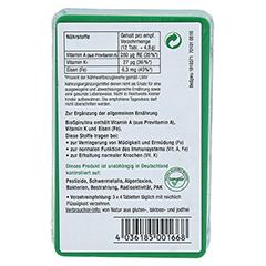 BIOSPIRULINA aus ökologischer Aquakultur Tabletten 100 Stück - Rückseite