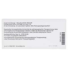 COCHLEA GL D 15 Ampullen 10x1 Milliliter N1 - Rückseite
