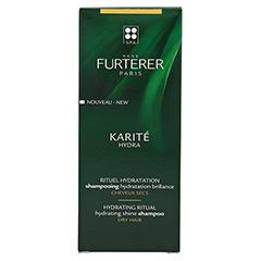René Furterer Karite Hydra Feuchtigkeitsspendendes Shampoo 150 Milliliter - Rückseite