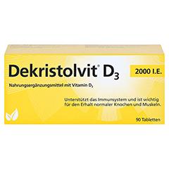 DEKRISTOLVIT D3 2.000 I.E. Tabletten 90 Stück - Vorderseite