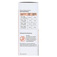 IBU-ratiopharm Fiebersaft für Kinder 20mg/ml 100 Milliliter N1 - Linke Seite