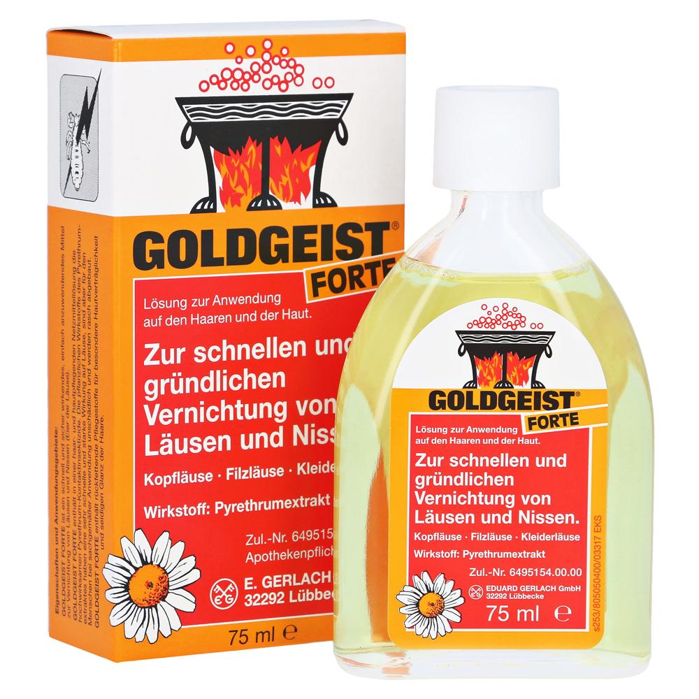 Erfahrungen Zu Goldgeist Forte 75 Milliliter N1 Medpex Versandapotheke