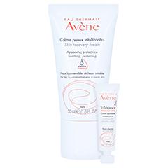 Avène Creme für überempfindliche Haut leicht + gratis Avène Tolérance Control 5ml 50 Milliliter