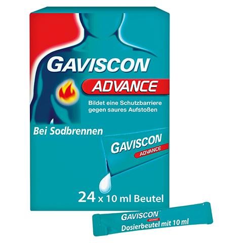 Gaviscon Advance Pfefferminz Suspension 24x10 Milliliter N2