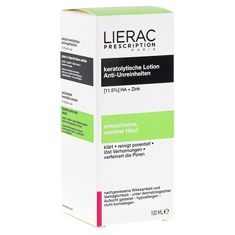 LIERAC Prescription keratolytische Lotion 100 Milliliter
