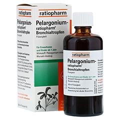 Pelargonium-ratiopharm Bronchialtropfen 100 Milliliter N3