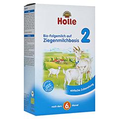 HOLLE Bio Folgemilch 2 auf Ziegenmilchbasis Pulver 400 Gramm