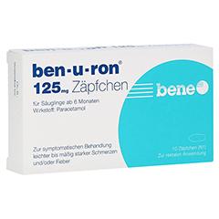 Ben-u-ron 125mg 10 Stück N1
