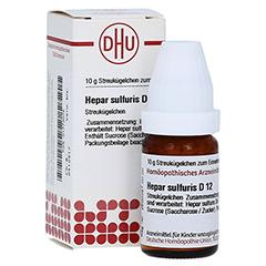 HEPAR SULFURIS D 12 Globuli 10 Gramm N1