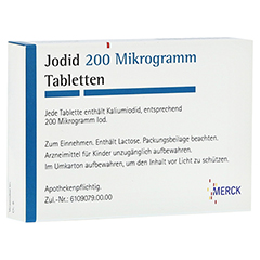 Jodid 200Mikrogramm 100 Stück N3