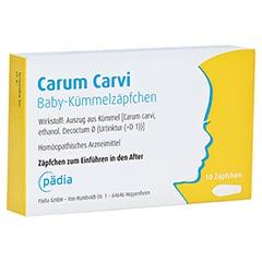 CARUM CARVI Baby-Kümmelzäpfchen 10 Stück N1
