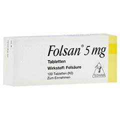 FOLSAN 5 mg Tabletten 100 Stück N3