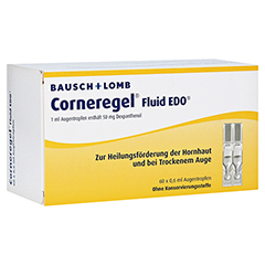 Corneregel Fluid EDO Augentropfen 60x0.6 Milliliter N2