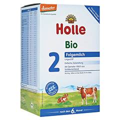 HOLLE Bio Säuglings Folgemilch 2 600 Gramm