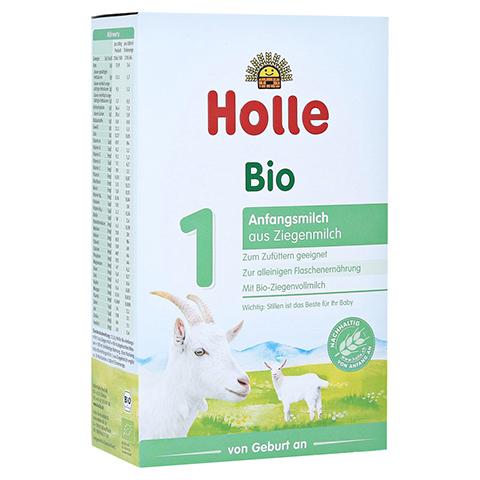 HOLLE Bio Anfangsmilch 1 auf Ziegenmilchbasis 400 Gramm