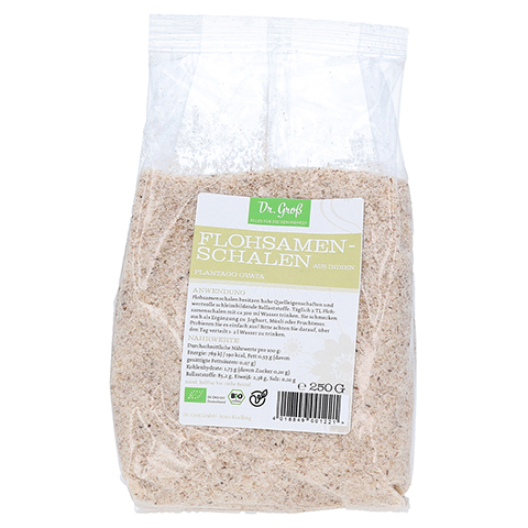 FLOHSAMENSCHALEN indisch Bio 250 Gramm