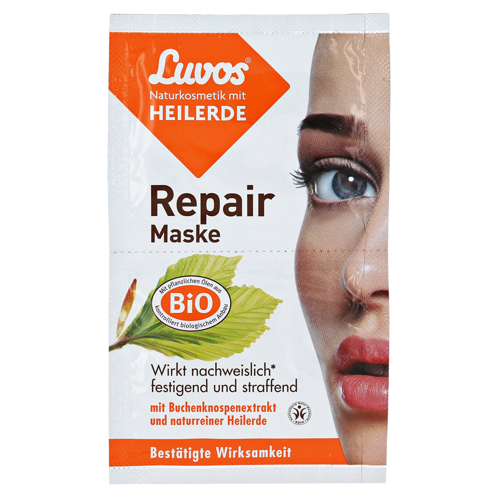 erfahrungen zu luvos naturkosmetik heilerde repair maske 2x7 5 milliliter medpex versandapotheke. Black Bedroom Furniture Sets. Home Design Ideas