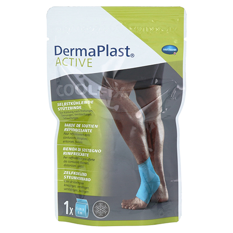 DERMAPLAST Active CoolFix Bandage 6 cmx4 m 1 Stück