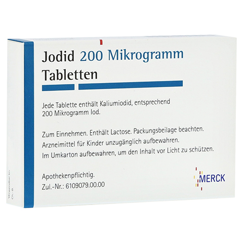 Jodid 200Mikrogramm 100 Stück N3