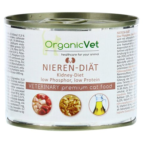 DOSENNAHRUNG Katze Nieren-Diät 200 Gramm